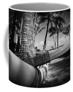 Kuau Palm Trees Hawaiian Outrigger Canoe Paia Maui Hawaii Coffee Mug
