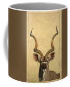 Kudu Coffee Mug by James W Johnson