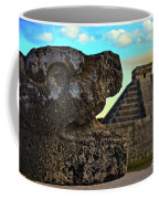 Kukulkan Pyramid At Chichen Itza In The Yucatan Of Mexico Coffee Mug