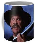 Kurt Russell As Wyatt Earp  In Tombstone 1993 Coffee Mug