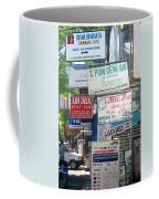 Kuta Street Signs -- Bali Coffee Mug
