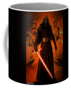 Kylo Ren In The Battlefield Coffee Mug