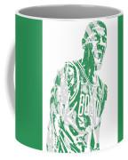 Kyrie Irving Boston Celtics Pixel Art 42 Coffee Mug