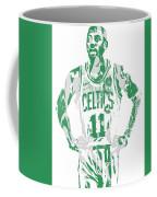 Kyrie Irving Boston Celtics Pixel Art 8 Coffee Mug