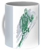 Kyrie Irving Boston Celtics Water Color Art 4 Coffee Mug