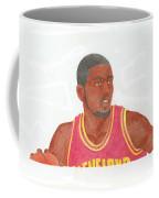 Kyrie Irving Coffee Mug by Toni Jaso