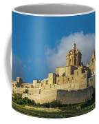 L-imdina Castle City Cathedral And Walls Coffee Mug