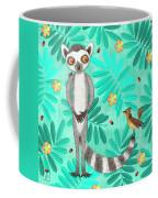 L Is For Lemur And Lark Coffee Mug