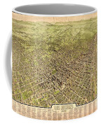 La Antique Map Coffee Mug