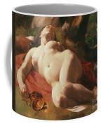 La Bacchante Coffee Mug by Gustave Courbet