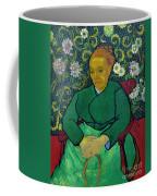 La Berceuse, Portrait Of Madame Roulin, 1888-1889, Kroller-mulle Coffee Mug