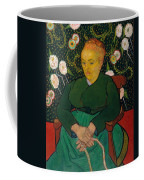 La Berceuse. Woman Rocking A Cradle. Augustine-alix Pellicot Roulin Coffee Mug