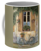 La Bici Coffee Mug by Guido Borelli