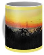 la Casita Playa Hermosa Puntarenas Costa Rica - Sunset A Panorama Coffee Mug