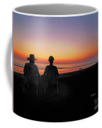 la Casita Playa Hermosa Puntarenas Costa Rica - Sunset Happy Couple Coffee Mug
