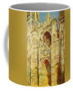 La Cathedrale De Rouen Le Portail Et La Tour Saint-ro Claude Oscar Monet Coffee Mug