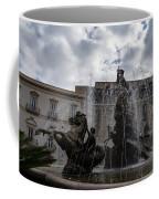 La Fontana Di Diana - Fountain Of Diana Silver Jets And Sky Drama Coffee Mug