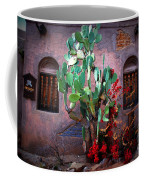 La Hacienda In Old Tuscon Az Coffee Mug by Susanne Van Hulst
