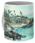La Jolla Cove In December, La Jolla, San Diego, California Coffee Mug