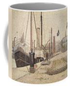 La Maria At Honfleur Coffee Mug by Georges Pierre Seurat