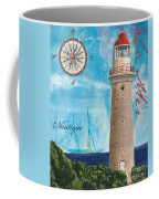 La Mer Coffee Mug by Debbie DeWitt