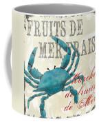 La Mer Shellfish 1 Coffee Mug by Debbie DeWitt