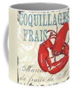 La Mer Shellfish 2 Coffee Mug by Debbie DeWitt