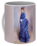 La Parisienne The Blue Lady  Coffee Mug