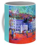 La Place Bellecour A Lyon Coffee Mug