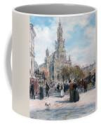 La Place De Trinite Coffee Mug by Jean Francois Raffaelli