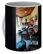 La Posada Historic Hotel Veranda Portrait Coffee Mug