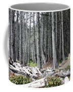 La Push Beach Trees Coffee Mug