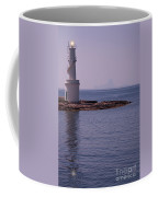 La Sabina Lighthouse Formentera And The Island Of Es Vedra Coffee Mug by John Edwards