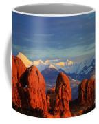 La Sal Mountains In Arches Np Utah Coffee Mug