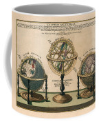 La Sphere Artificielle - Illustration Of The Globe - Celestial And Terrestrial Globes - Astrolabe Coffee Mug