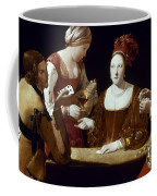 La Tour: The Cheat, C1625 Coffee Mug