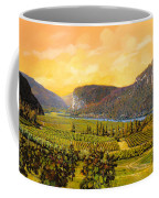 La Vigna Sul Fiume Coffee Mug by Guido Borelli