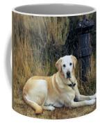 Lab And Fire Hydrant Coffee Mug