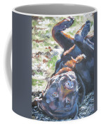 Labrador Retriever Chocolate Fun Coffee Mug