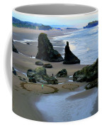 Labyrinths At Bandon Beach Coffee Mug