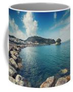 Lacco Ameno Harbour ,  Ischia Island Coffee Mug
