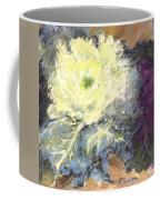 Lace Curtin Cabbage Coffee Mug