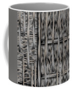 Lace Landscape Abstract Shimmering Lovely In The Dark Coffee Mug