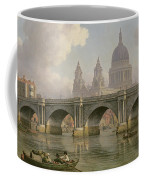 Blackfriars Bridge And St Paul's Cathedral Coffee Mug