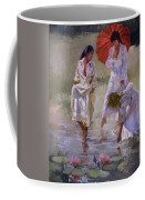 Ladies And Lilies Coffee Mug