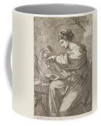 Lady And Eagle Coffee Mug