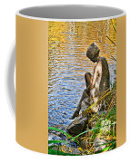 Lady And Water Coffee Mug