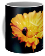 Lady Bug Walking The Line Coffee Mug