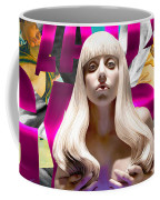 Lady Gaga Graphic Art Coffee Mug
