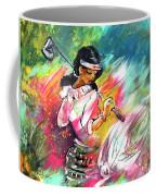 Lady Golf 02 Coffee Mug
